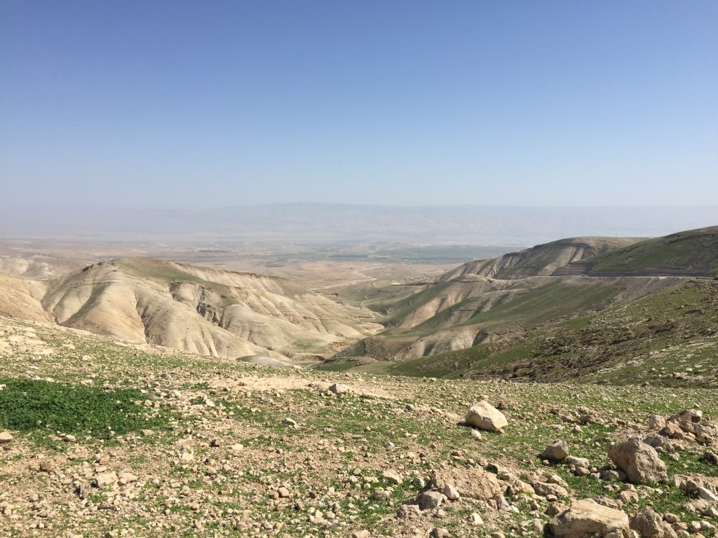 Wilderness outside Jerusalem, February 2017